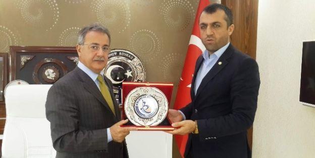 Birlik Başkanı İhsan Akın, Başkan Mehmet Boyraz'ı Ziyaret Etti