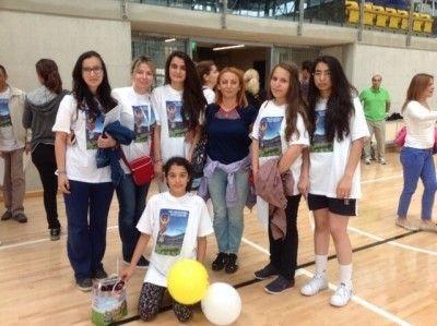 Burslu Başarılı Öğrenciler Spor Şenliklerine Katıldı