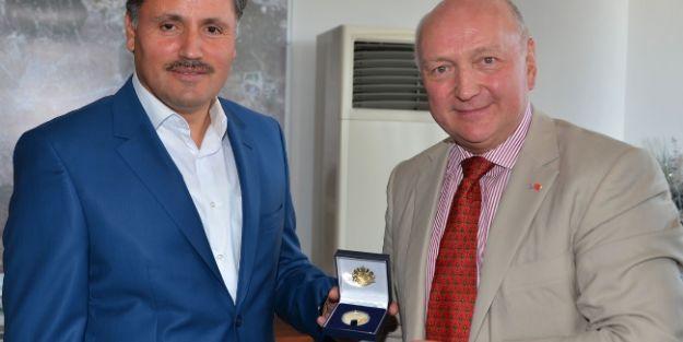 Büyükelçilerden Malatya Belediye Başkanı Ahmet Çakır'a Ziyaret
