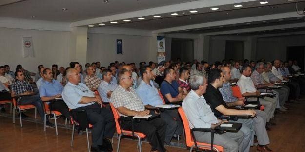 Büyükşehir Belediyesi Hizmet İçi Semineri Başladı
