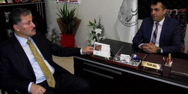 Çakır'dan Başkan İhsan Akın'a Ziyaret