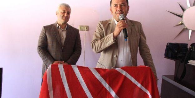 Chp Arapgir'de Hüseyin Akşahin Tekrar Başkan Seçildi