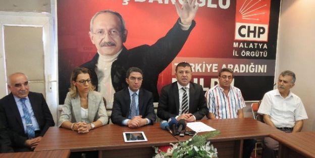 Chp Genel Başkan Yardımcısı Veli Ağbaba'dan Açıklamalar
