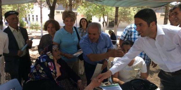 Chp Heyeti, Arguvan'da Seçim Çalışması Yaptı