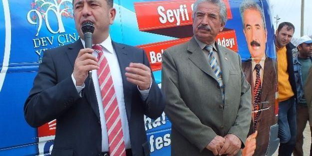 Chp Heyeti, Yazıhan'da Seçim Çalışması Yaptı