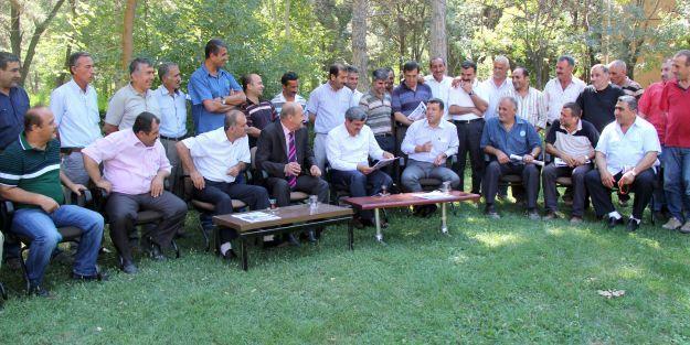 CHP Milletvekili Ağbaba, Şeker-İş Sendikası'nı ziyaret etti