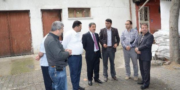 Darende Belediye Başkanı Süleyman Eser, Esnafları Ziyaret Etti