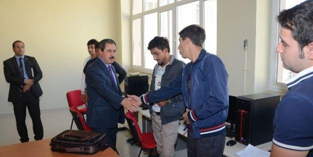 Darende Belediye Başkanı Süleyman Eser, Myo'yu Ziyaret Etti