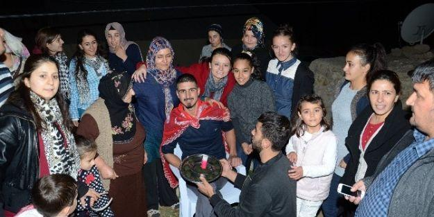 Darende'de Asker Uğurlama Töreni
