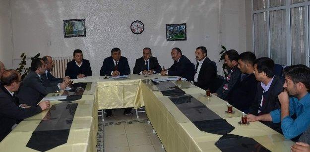Darende'de Ulaşım Toplantısı