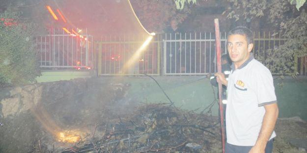 Devlet Hastanesi'nde  yangın alarmı