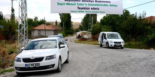 Doğanşehir'de 146 kilometre asfaltlama yapıldı