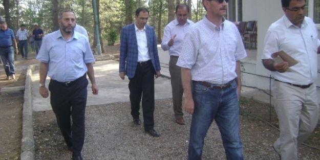 Dsi Bölge Müdürlüğü Heyeti, Doğanşehir'de Temaslarda Bulundu
