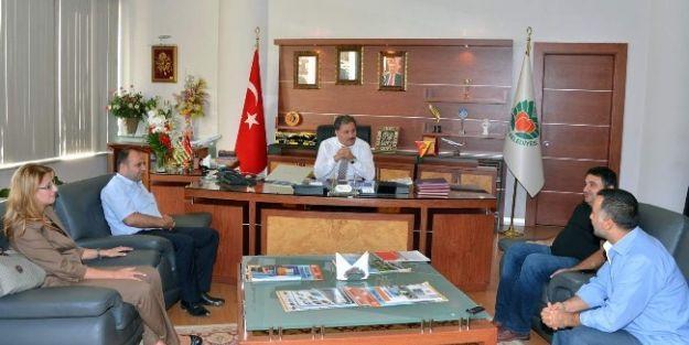 Eczacılar Odası'ndan Başkan Çakır'a Ziyaret
