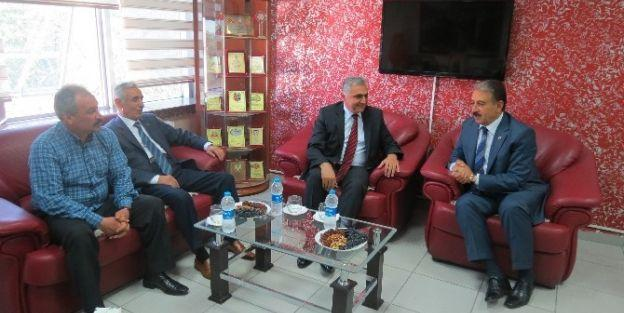 Emniyet Müdürü Dr. Urhal'dan Mesob'a Ziyaret