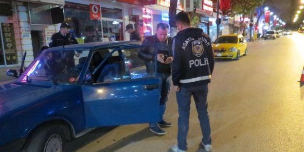 Emniyet'ten Gece Yarısı Asayiş Ve Trafik Uygulaması