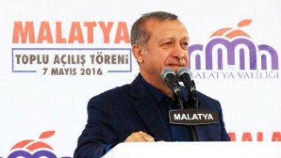 Erdoğan Malatyalılarla 16.'kez buluşuyor