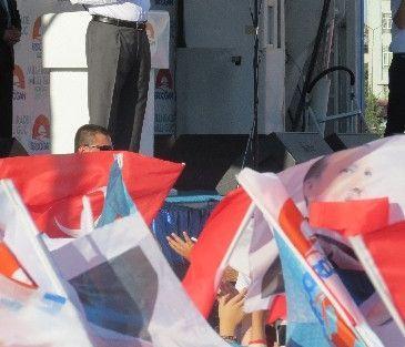 Erdoğan'ın Malatya Mitingini Mozambik Cumhurbaşkanı Adayı Da İzledi
