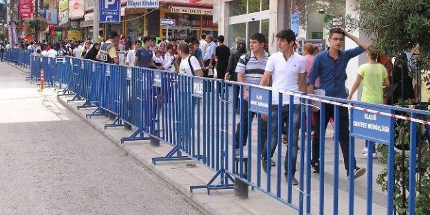 Erdoğan'ın Ziyareti Nedeniyle Civar İllerden Polis Takviyesi Yapıldı
