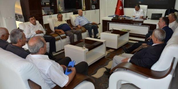 Eski Milletvekili Miraç Akdoğan'dan Başkan Selahattin Gürkan'a Ziyaret
