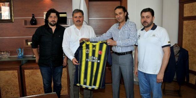Fenerbahçeliler Derneği'nden, Başkan Çakır'a Ziyaret