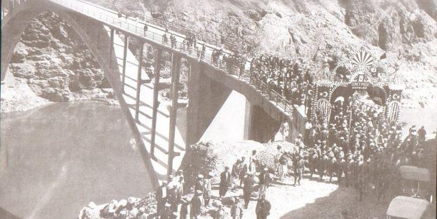 Fırat'ın ilk beton gerdanlığı!..