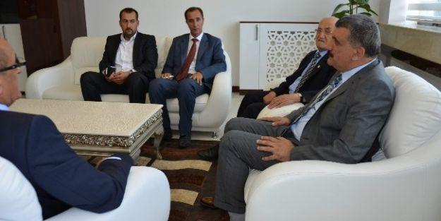 Galip Demirel'den Belediye Başkanı Selahattin Gürkan'a Ziyaret