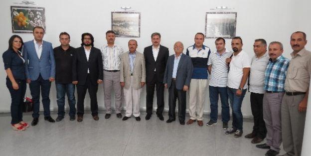 Gazeteciler Cemiyeti'nden Çakır'a Ziyaret