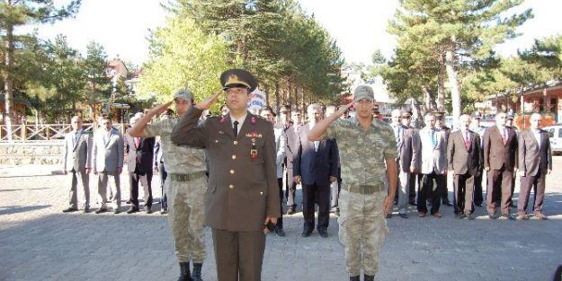 Gaziler Günü Nedeniyle Arapgir'de De Tören  Düzenlendi
