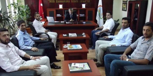 Genç Müsiad Yönetiminden Tarım İl Müdürü Ali Selvi'ye Ziyaret