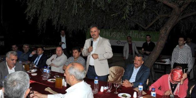 Göksu'dan Ahmet Çakır'a Ziyaret