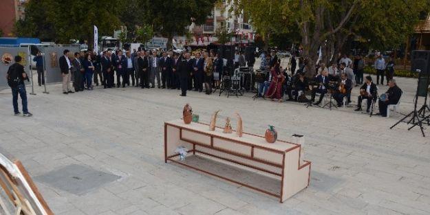 """Gürkan: 'Kervansarayı Kültür Sanat Merkezi Haline Getirdik"""""""