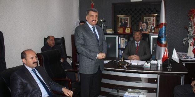 Gürkan'dan Belde Belediye Başkanlarına Ziyaret