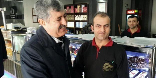 Hacı Uğur Polat, Esnafı Ziyaret Etti
