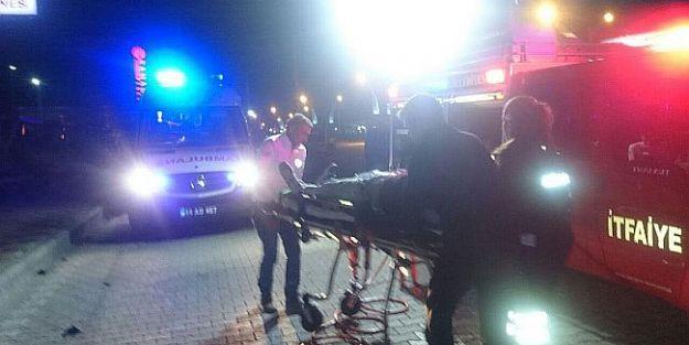 Hastane Önündeki Kazada Can Pazarı..