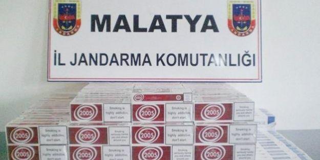 Hint Keneviri Ve Kaçak Sigara Ele Geçirildi