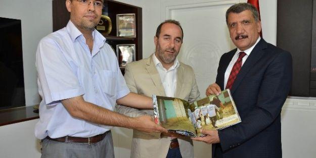 İhh Heyetinden Başkan Selahattin Gürkan'a Ziyaret