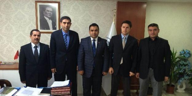 İller Bankası Bölge Müdürü Ali Tekataş Maski'yi Ziyaret Etti