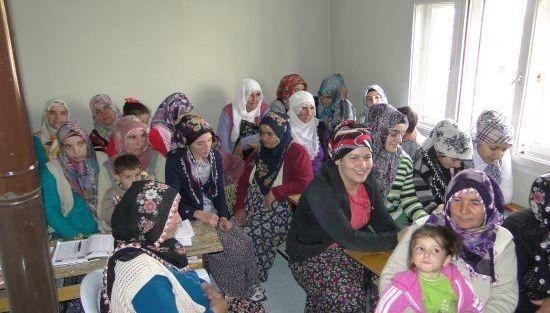 Kadınlara Gıda Muhafaza Ve Beslenme Eğitimi Verildi