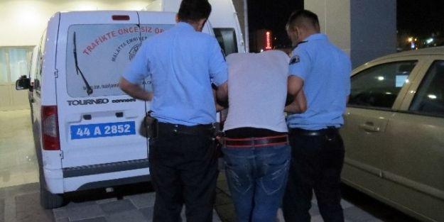 Kapkaççı Polisten Kaçamadı