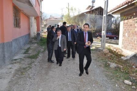 Kaymakam Mesut Çoban, Köy Ziyaretleri Etti