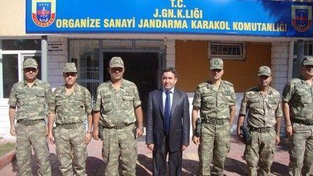 Kaymakam Nesim Babahanoğlu, Karakolları Denetledi