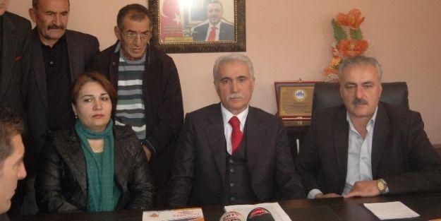 Kemal Deniz, Ak Parti'den Hekimhan Belediye Başkan Aday Adaylığı İçin Başvurusunu Yaptı