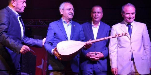 Kılıçdaroğlu, 11. Uluslararası Arguvan Türkü Festivaline Katıldı