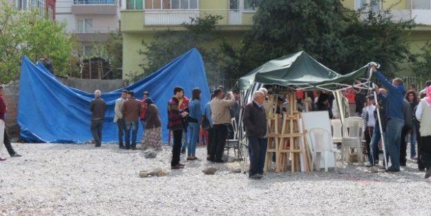 Kobani Çadırı Kaldırıldı Eylem Sona Erdi