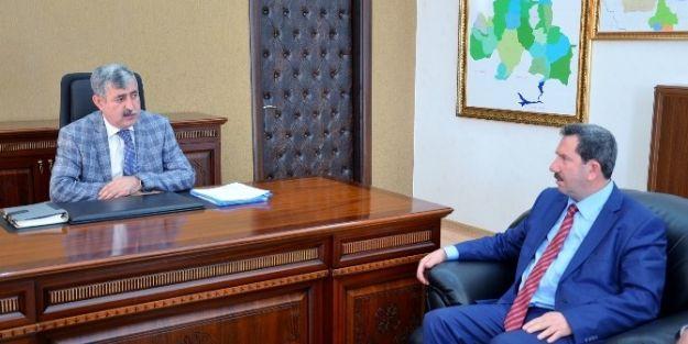 Kovancılar Belediye'sinden, Başkan Uğur Polat'a Ziyaret
