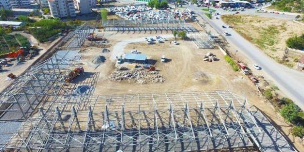 Köy Garajı Sanayi Sitesi'nin Yanına Yapılıyor