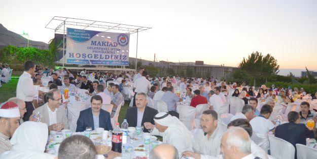 MAKİAD'dan Suriyelilere iftar