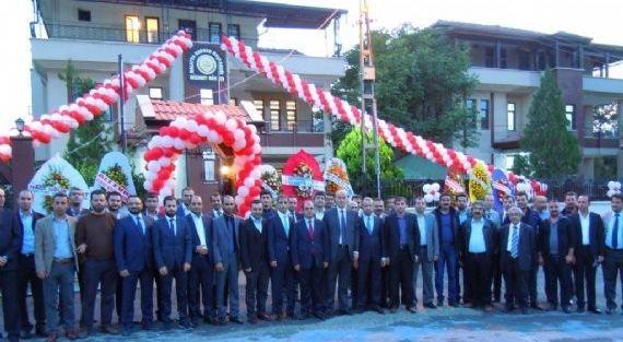 Malatya Barosu'nun Yeni Bınası Törenle Açıldı