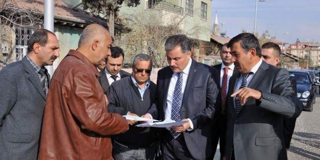 Malatya Belediye Başkanı Ahmet Çakır, Çalışmaları İnceledi